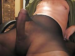 Pantyhose pics in cock Pantyhose